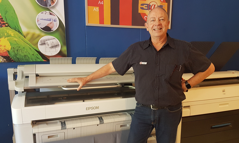 For smart solutions and great results, Phil Jones chooses the Epson SureColor SC-T5200