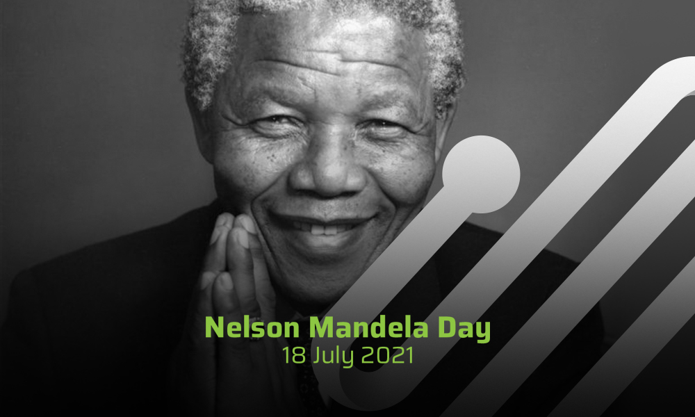 Inspired to give back on Nelson Mandela Day