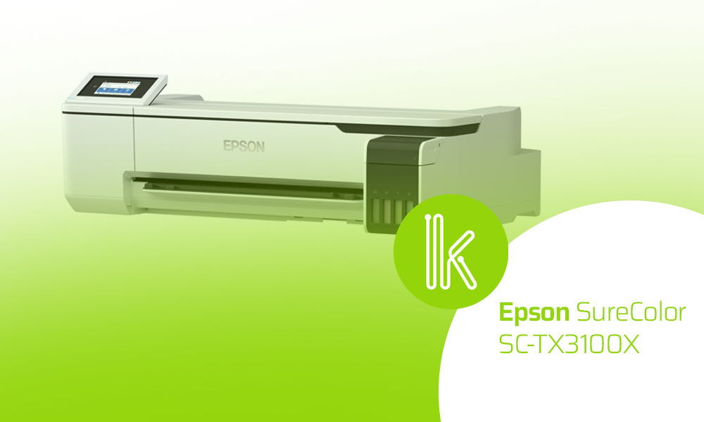 Go big with the Epson SureColor SC-T3100X